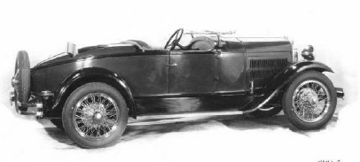 1929 Essex Challenger 2 Pass Speedabout