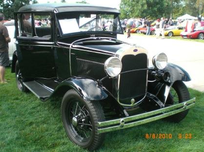 Vintage model a cars