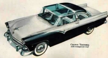 1955 Fairlane Crown Victoria & Classic Car Specifications Engine Wheelbase production numbers ... markmcfarlin.com