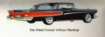 1958 Edsel Corsair 4-door Hardtop